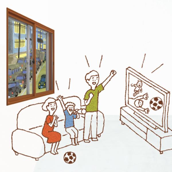 夏のリフォームにおすすめ! 内窓編 #3 「インプラスは遮音効果で静か」