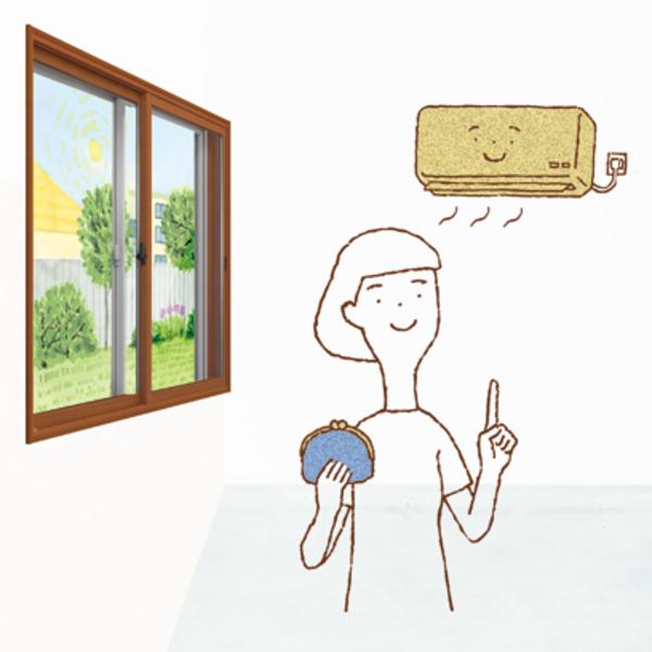 夏のリフォームにおすすめ! 内窓編 #5 「インプラスで電気代がお得に」