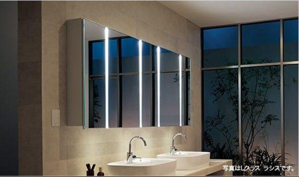 毎日使う場所を素敵に!Panasonicの洗面化粧台編 #4「ツインラインLED」