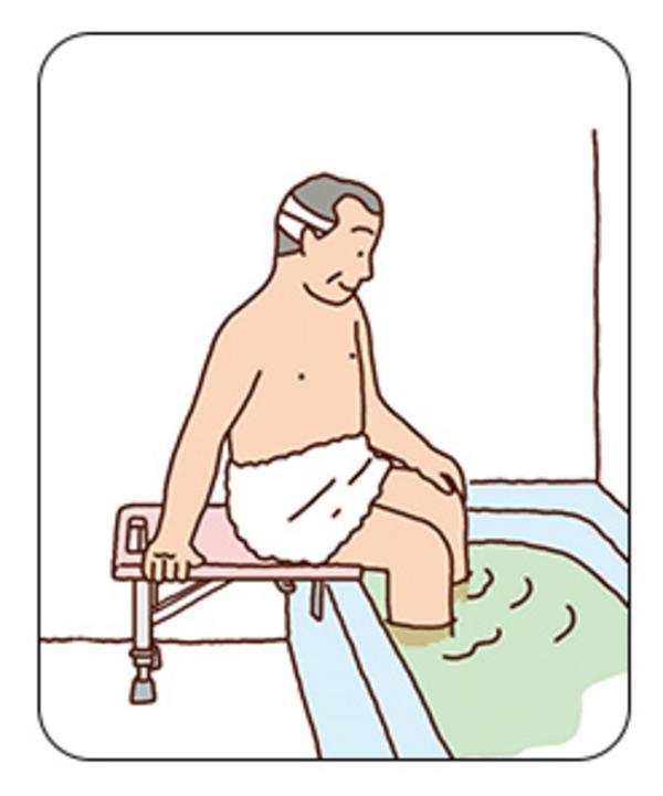 浴室手すり商品紹介/浴槽への移動/TOTO#2